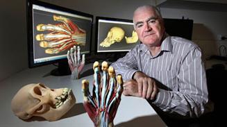 Impresion 3D anatomía humana