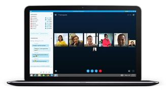 Skype business en portatil