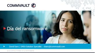 ransomware commvault